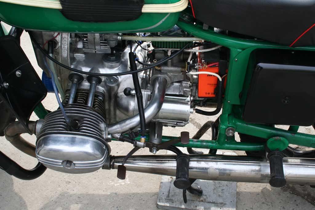 Русский мотоцикл инжекторный